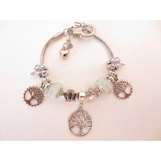 Pandora Armband - Tree of Life - Weiss