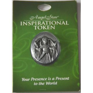 Angel Star Inspirational Token Your Presence is a Present to the World