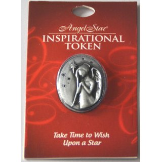 Angel Star Inspirational Token Take Time to Wish upon a Star