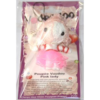 Voodoo Puppe Pink Lady